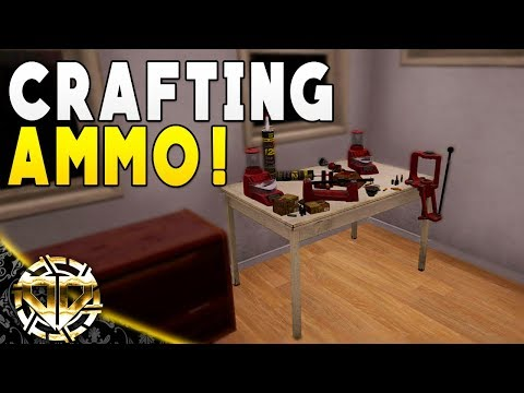 CRAFTING AMMO FOR THE HUNTING RIFLE : Mist Survival Gameplay : EP 18