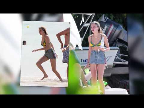 Cara Delevingne and Suki Waterhouse on Holiday in Barbados