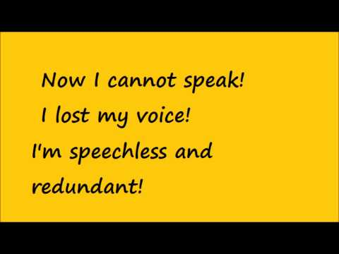 Green Day - Redundant lyrics
