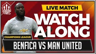Benfica vs Manchester United Live Stream Watchalong