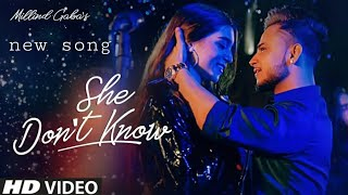 She don't know status millind gaba 2019 status video | Rap status | New song millind gaba statu