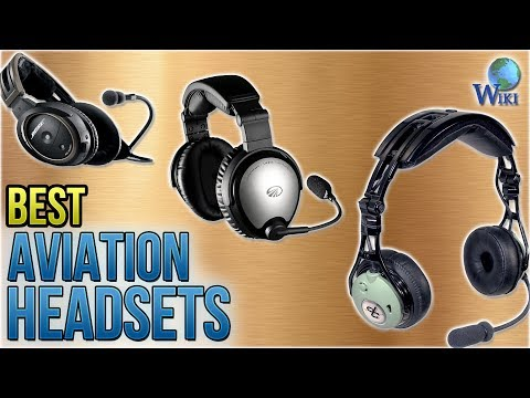 10 Best Aviation Headsets 2018