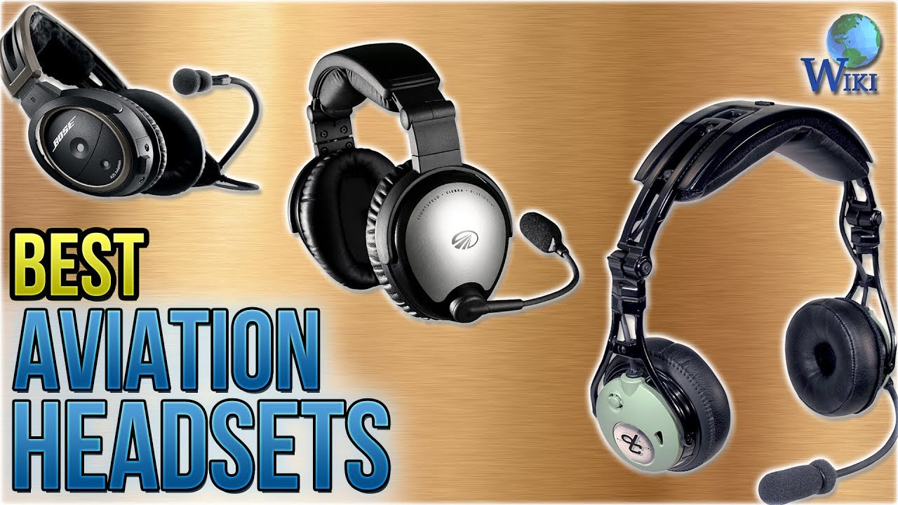 86112f8eff1 10 Best Aviation Headsets 2018 - YouTube