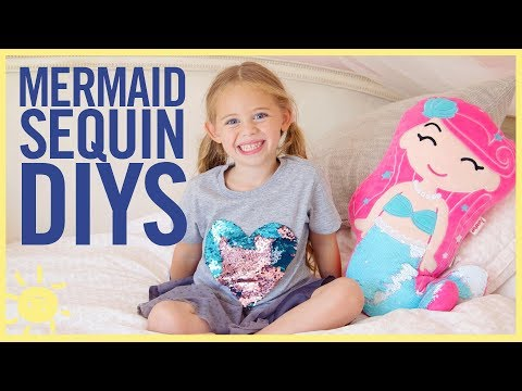 STYLE & BEAUTY   3 Mermaid Sequin DIYs