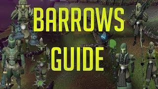 Runescape 3 - Barrows guide 2018   Setup & Walkthrough