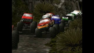 MY CHILDHOOD!!! Playing Monster Truck Madness 2