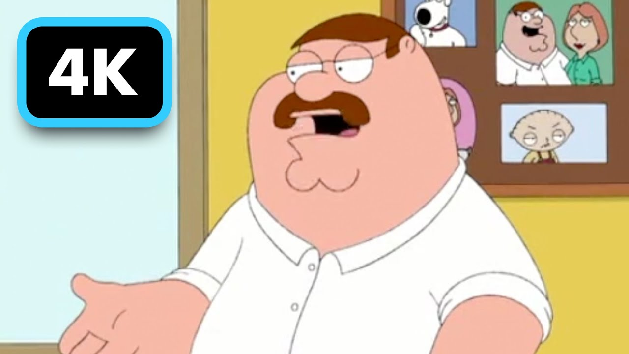 Family Guy Peter Grows A Mustache Youtube