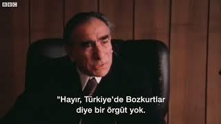BBC'nin Arşivi Alparslan Türkeş'i İngilizce konuşurken görmüş müydünüz?