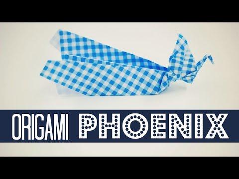 Origami Phoenix (Traditional Origami)
