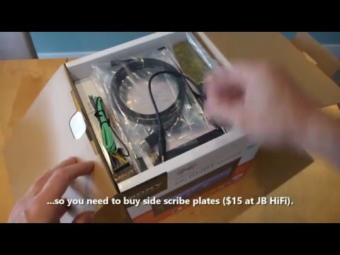 Unboxing Sony XAV612BT, review and installation into a 100 series Toyota Land Cruiser