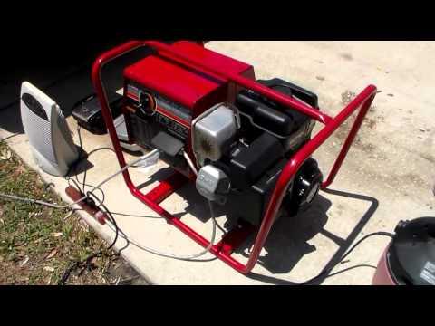 Lincoln PowerArc 4000 watt generator 125 amp welder 8.0 Briggs Intek OHV