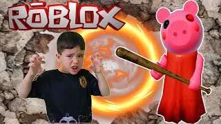 🐷 Roblox Piggy: Joguei com meu irmão, QUEM VENCEU?