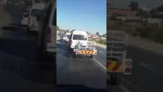 Namibian mini bus drivers