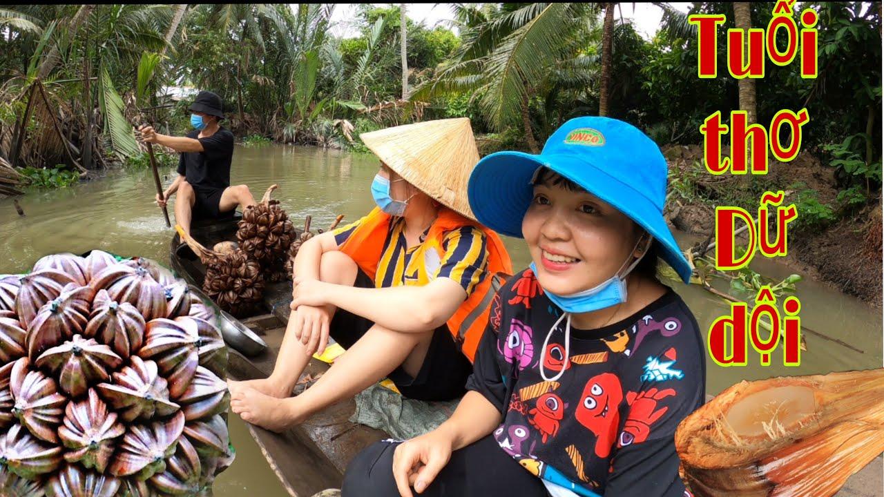 Huỳnh Như Vlogs | Món Ăn Dừa Nước Tuổi Thơ Mà Trẻ Trâu Không Biết - Miền tây
