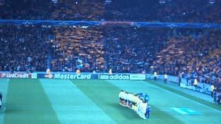 Шахтер - Манчестер Юнайтед 2013,октябрь, перфоманс