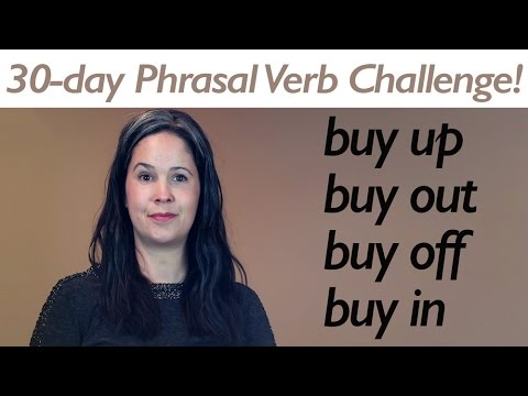 PHRASAL VERB BUY