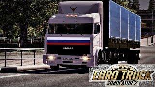 """Еду на КАМАЗ-54115  из """"сериала"""" в Южный регион - Euro Truck Simulator 2"""