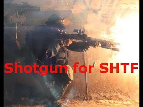 SHOTGUN VERSATILITY IS IDEAL FOR SHTF / WROL