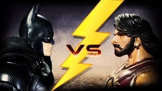 BAAHUBALI  vs  BATMAN (Stop motion animation)