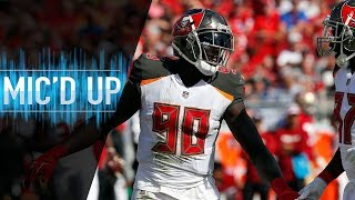 "Jason Pierre-Paul Mic'd Up vs. 49ers ""I need a hot dog! I want some eggnog!"" 