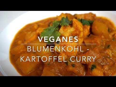 Veganes Blumenkohl KartoffelCurry | Aloo Gobi Masala | indisch kochen | InderKocht Folge 81
