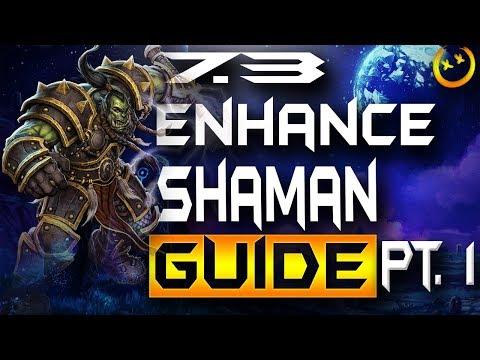 WOW 7.3 Legion Enhance shaman Rated Battlegrounds /BG Guide- Talents,PvP talents,Rotation, And Burst