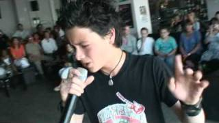 "Sacha Tran 1er mini concert GDS au Pool Fiction (Kinépolis Liège) chante ""Mashistador"""