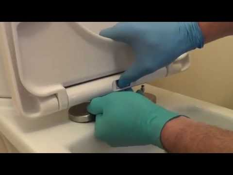 How to fix a loose toilet seat