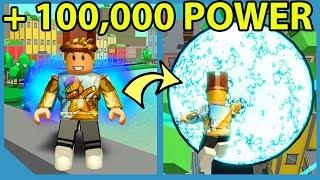 New Super Power Training Simulator Game! - Roblox Power Simulator
