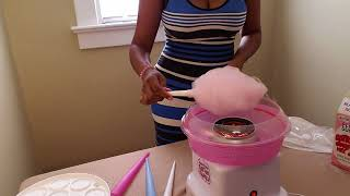 Nostalgia PCM805 Candy Cotton Maker Review and Demo