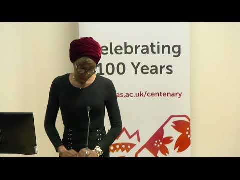 SOAS African Literatures Conference 2017, Panel 1, SOAS University of London