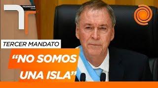 La emoción de Juan Schiaretti cuando reasumió como gobernador