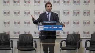 Conférence de presse de Christian Jacob - Financement des mesures annoncées par Emmanuel Macron