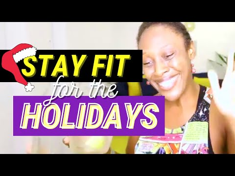 At home CARDIO DANCE party to help you stay FIT during the holidays❄️