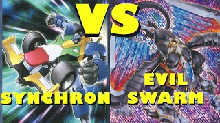 Real Life Yugioh - SYNCHRON vs EVILSWARM Casuals October 2014 Format
