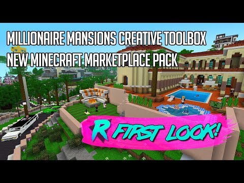 Millionaire Mansions - Minecraft Pack Firstlook