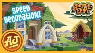 Safari Manor Speed Den Decoration! | Animal Jam - Play Wild
