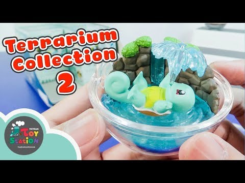 Terrarium Collection 2 Bộ sưu tập banh Pokemon trong suốt series 2 ToyStation 203
