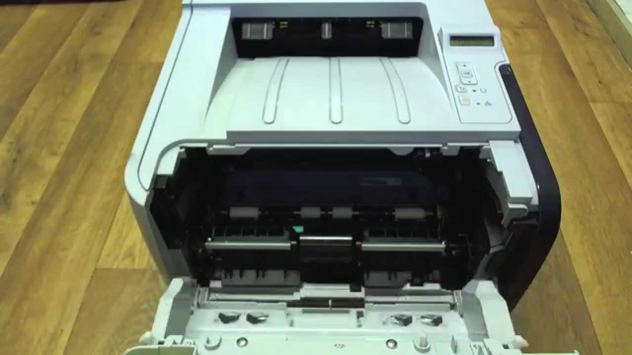 Hp Laserjet P2055 Changing The Cartridge Youtube