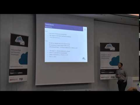 OpenNebulaConf 2014 - Bootstrapping a virtual infrastructure using OpenNebula by Arnold Bechtoldt