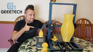 GeeeTech A30 3D Printer Unboxing and Review