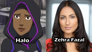 Characters and Voice Actors - Young Justice: Outsiders (Season 3) (Part 2)
