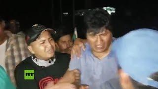Los últimos minutos de Evo Morales en Bolivia