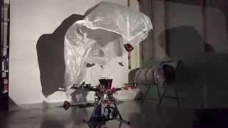 видео парашют для квадрокоптера