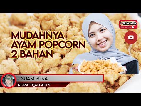 cara-buat-ayam-pop-corn-|-2-bahan-jer-!!