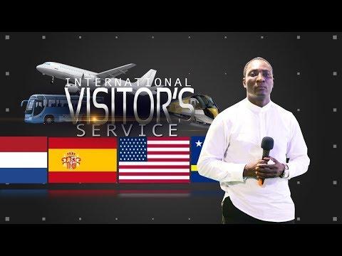 INTERNATIONAL VISITORS SERVICE (October 1st 2017)