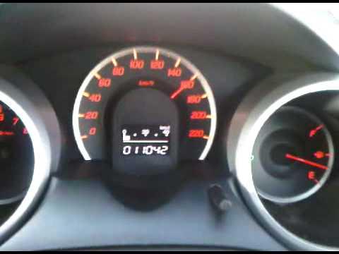 100180 honda jazz fit 15AT turbo boost025bar 120hp  YouTube