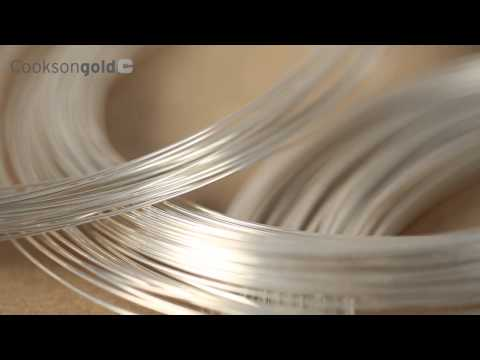 Cooksongold Silver Wire Introduction
