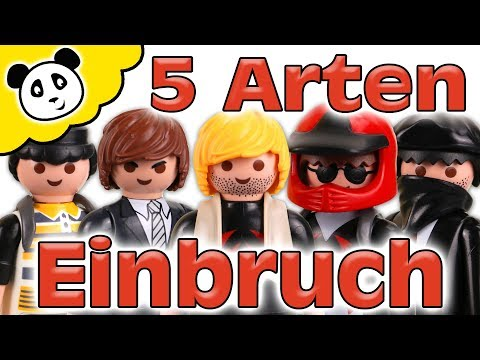Playmobil Polizei - 5 ARTEN EINBRECHEN - Playmobil Film