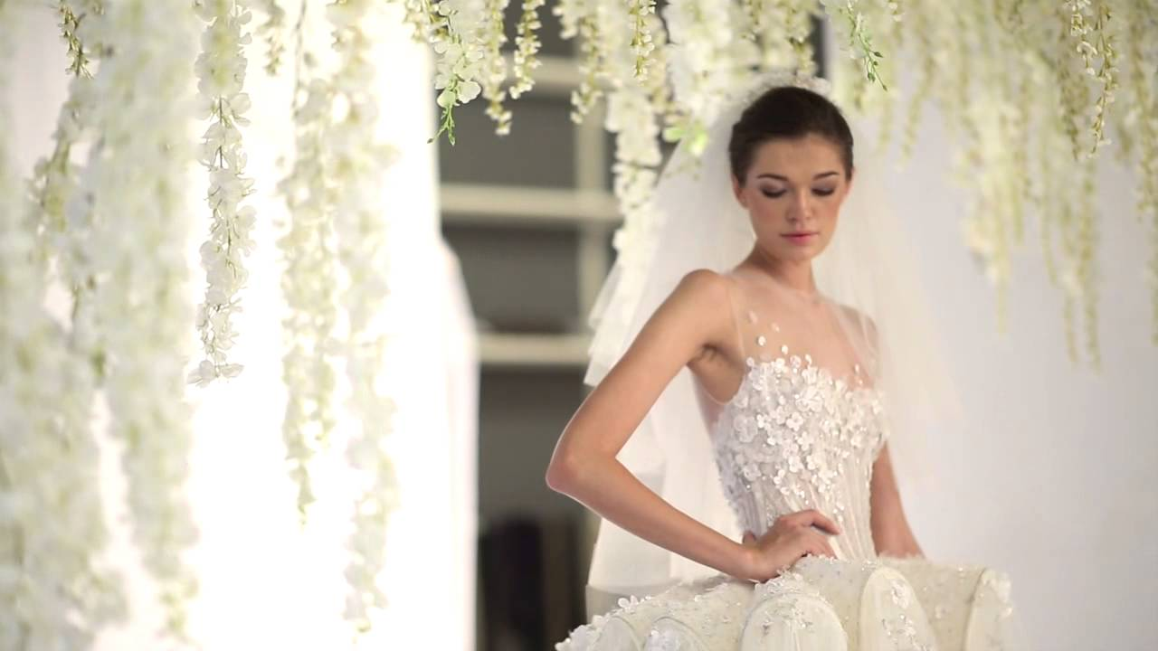 The white realm ziad nakad bridal collection youtube for Ziad nakad wedding dresses prices
